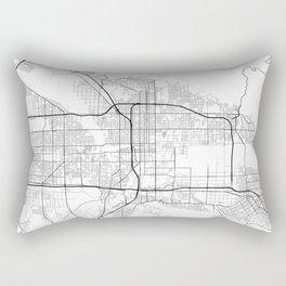 Minimal City Maps - Map Of San Bernardino, California, United States Rectangular Pillow