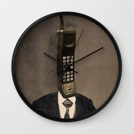 Faces of the Past: Cellular Wall Clock