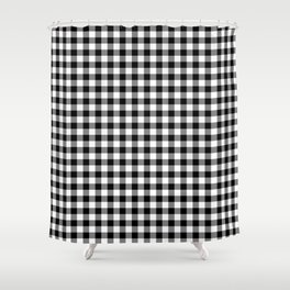Gingham Tartan Shower Curtains