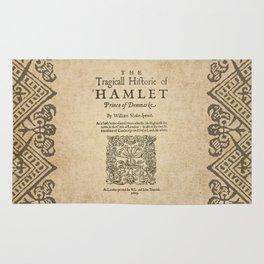 Shakespeare, Hamlet 1603 Rug