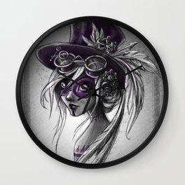 Violet ! Wall Clock