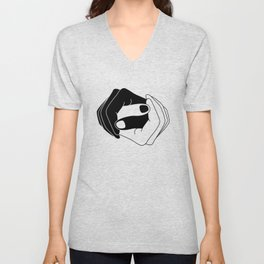 Yin and Yang Unisex V-Neck
