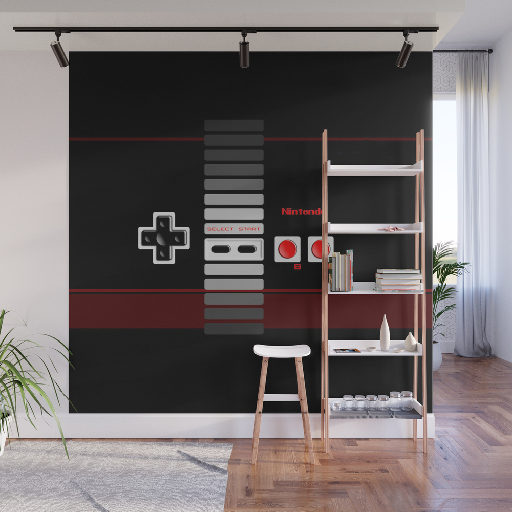 Nintendo Clasic Wall Mural by Sapphire77 WMP7949931