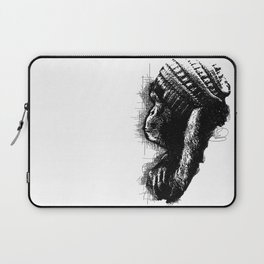 Monkey See Monkey Do Laptop Sleeve
