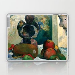 Still Life with Profile of Laval by Paul Gauguin Laptop & iPad Skin