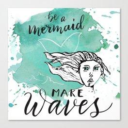 Make Waves Canvas Print