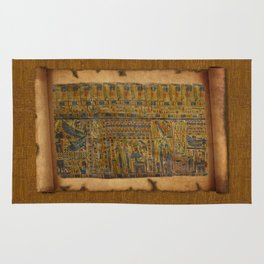 Ancient Egyptian Funerary Scroll pre 944 BC Rug