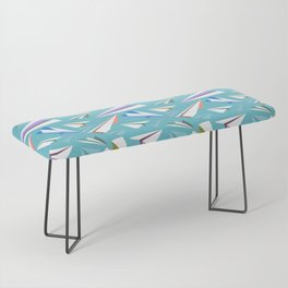 Aeroplanes - Paper Airplanes Pattern Bench