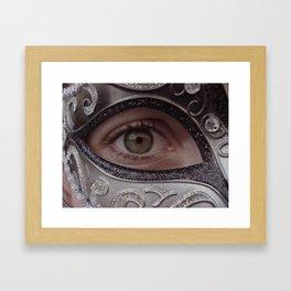 Aye Eye Framed Art Print