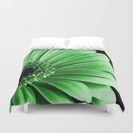 Gerbera Green Duvet Cover