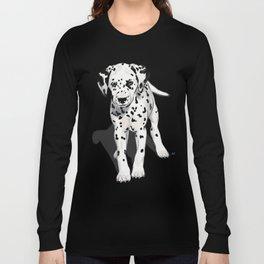 Dalmatian Puppy Long Sleeve T-shirt