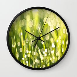 One Summer Morning Wall Clock