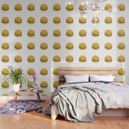 Pixel Burger Wallpaper