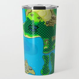 Seamer World 2 Map Travel Mug