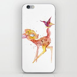 Bambi Meets Butterfly iPhone Skin