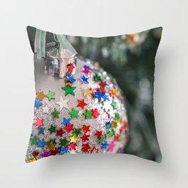 christmas stars Throw Pillow