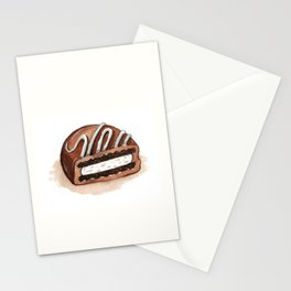 Chocolate Covered Cookie Stationery Cards