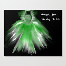 Sandy Hook Angel Canvas Print