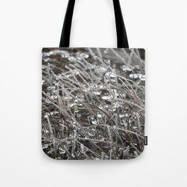 Jeweled River Grass Tote Bag