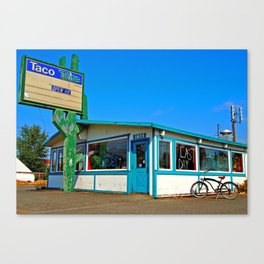 Abandoned Taco Time Canvas Print