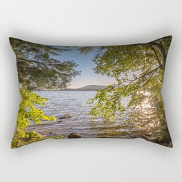 Secret Place By The Lake Rectangular Pillow