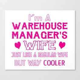 Warehouse Manager's Wife Canvas Print