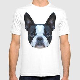 Frenchie / Boston Terrier // Peach / Apricot T-shirt