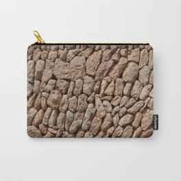 Stone wall background Carry-All Pouch