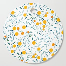 Orange Tree Cutting Board