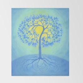 BEACON OF PEACE Throw Blanket