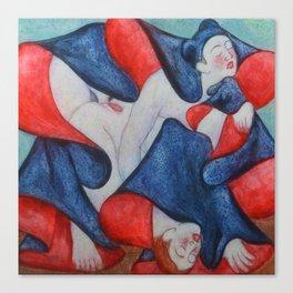 Shunga Canvas Print