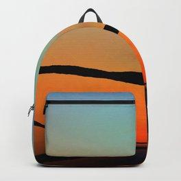 Colorful Bright Modern Art - Eternal Light 2 - Sharon Cummings Backpack
