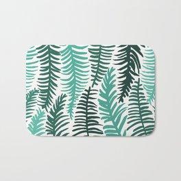 Groovy Palm Bath Mat