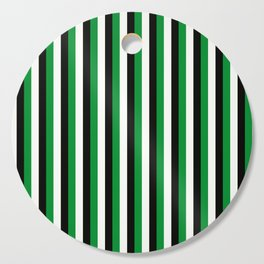 Team Color 4...green,black, white Cutting Board
