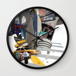 So New York Wall Clock