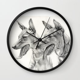 Dogs: Andalusian Hound Wall Clock