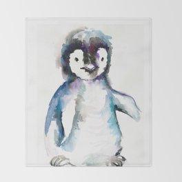 HAPPY PENGUIN Throw Blanket