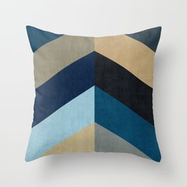 Triangular composition XX Throw Pillow