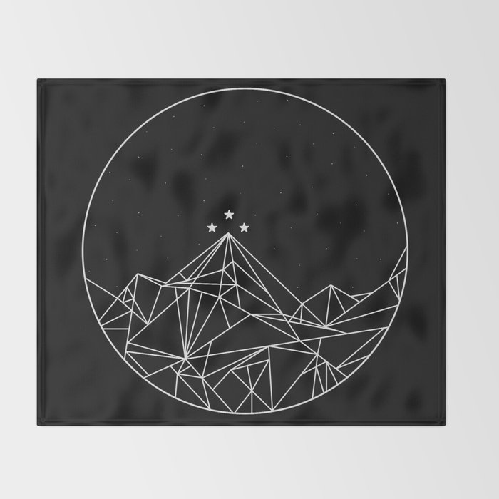 The Night Court Symbol Throw Blanket By Torijacob Society6