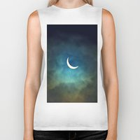 urban Biker Tanks featuring Solar Eclipse 1 by Aaron Carberry