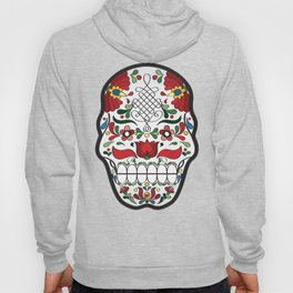 Coloured Matyo Skull Hoody