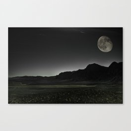 Once upon a Moon Canvas Print
