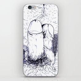 Enamorados iPhone Skin