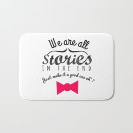 stories-doctor who Bath Mat