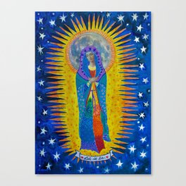 "Mary: ""Let it Be"" Canvas Print"