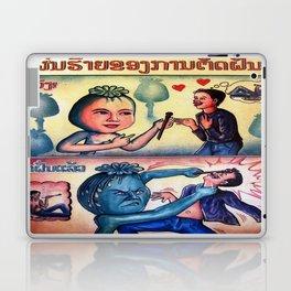 The Opium Eater  Laptop & iPad Skin