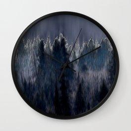 Forest blend Wall Clock