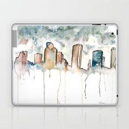 Houston Rain Laptop & iPad Skin