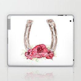Derby Horseshoe, Roses, Kentucky, Races Laptop & iPad Skin