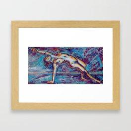 The Ecstatic Unfolding of the Enraptured Heart Framed Art Print